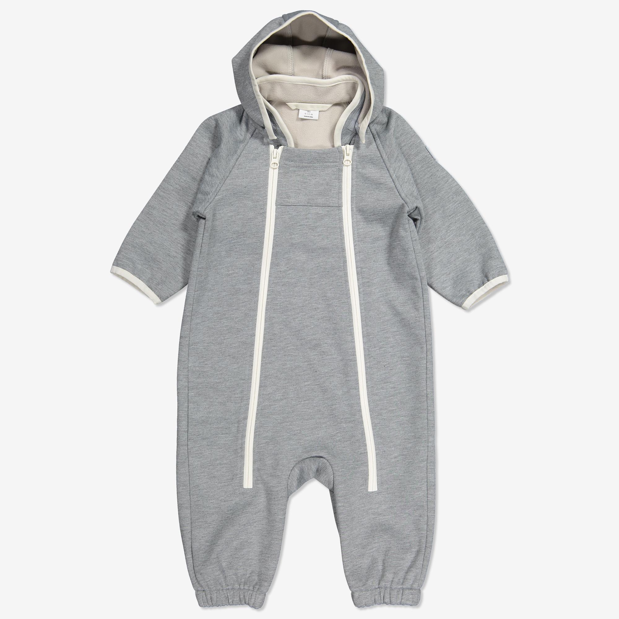 myyntipiste myynnissä juoksukengät alkuun tuotemerkkejä Vauvan softshell-haalari harmaameleerattu   Polarnopyret.fi