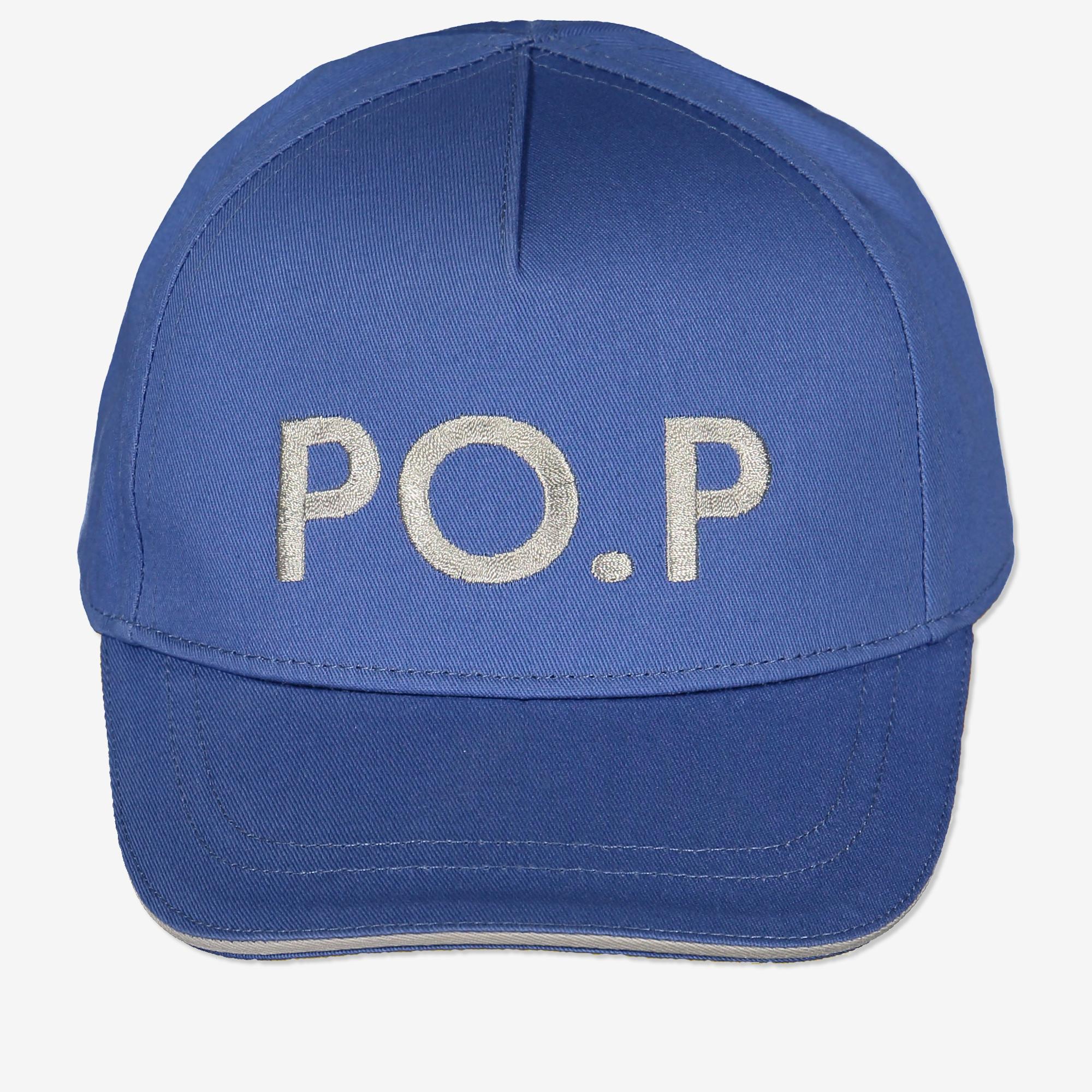 Lippalakki po.p kirjailulla sininen sininen  68a4d16dd4