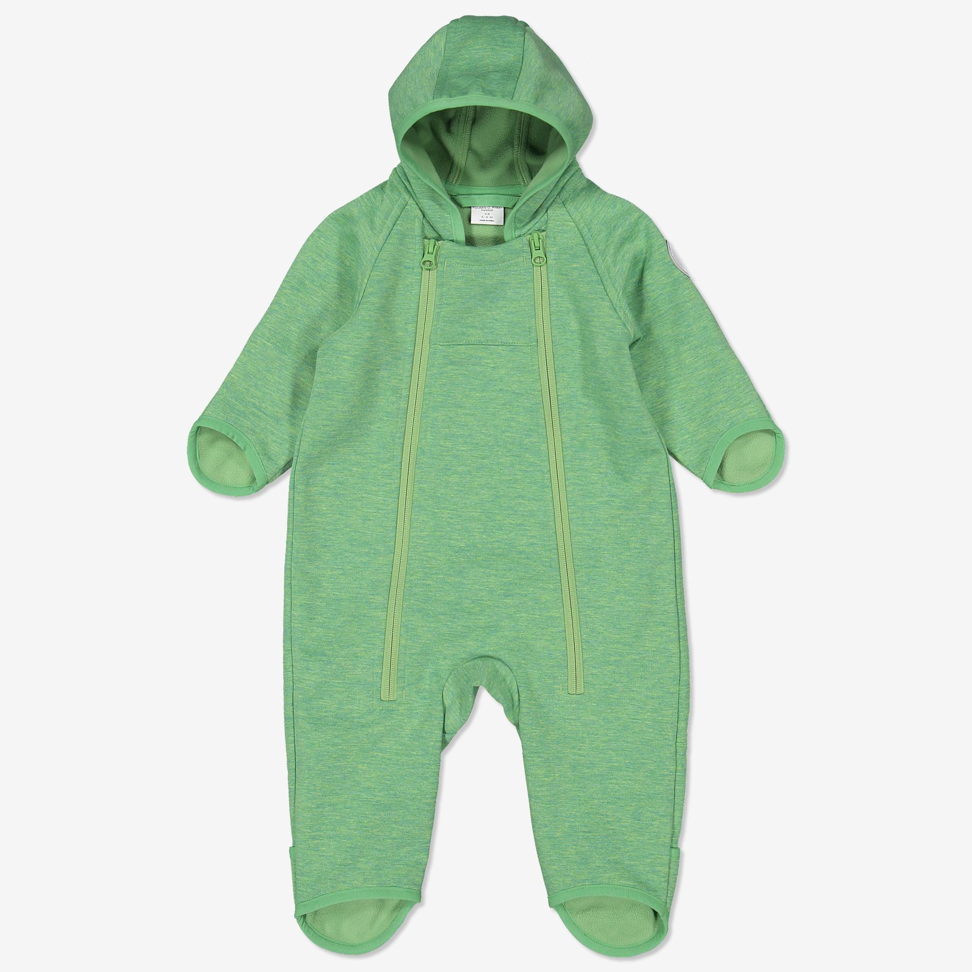suosituin 2018 kengät ajaton muotoilu Vauvan softshell haalari tuulenpitävä vihreä   Polarnopyret.fi